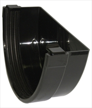 Industrial Gutter External Stop End 150mm