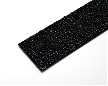 100mm BLACK Anti Slip Decking Strip - Fixings Inc