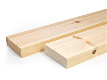 Planed Square Edge Timber (150mm x 50mm)