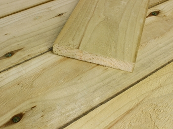 "Rough Sawn Treated Timber (8"" x 1"")"