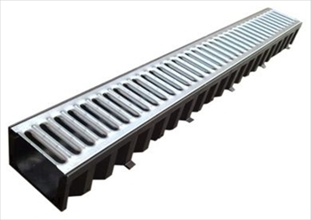 Drainage Channel & Galvanised Lid (1000mm)