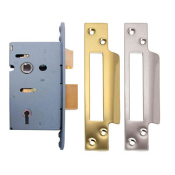 3 Lever Sash Lock 75mm ES