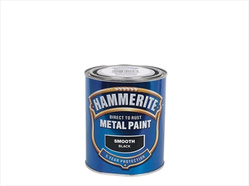 Hammerite Smooth (250ml - Black)