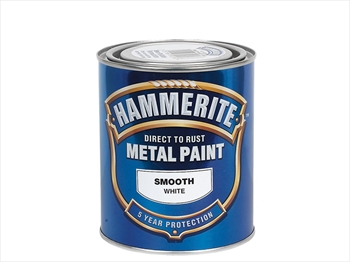 Hammerite Smooth (750ml - White)