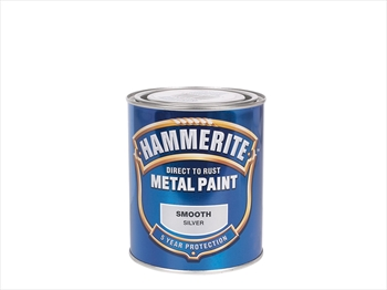 Hammerite Smooth (250ml - Silver)