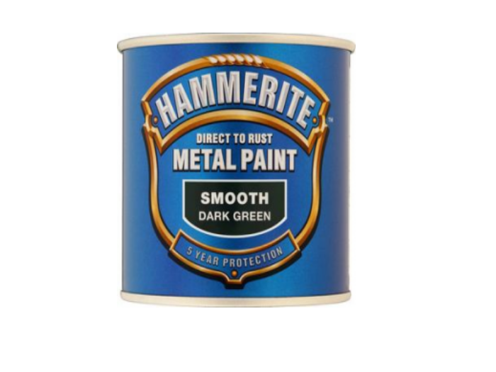 Hammerite Smooth (500ml - Dark Green)