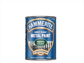 Hammerite Smooth (250ml - Dark Green)