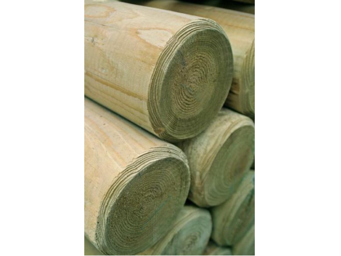 Machine Round Poles (50mm Non Pointed)