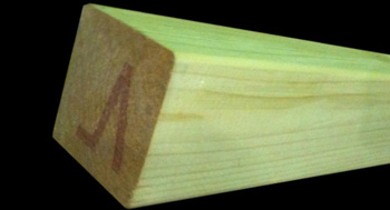 "2400mm SMOOTH 4""x4"" Fence Posts"