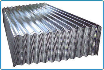 660mm - Galvanised Corrugated 8/3 Roof Sheets (12ft x 3660mm)