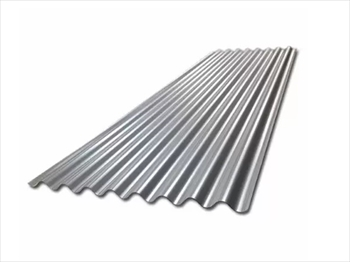 812mm - Galvanised Corrugated 10/3 Roof Sheets (7ft - 2135mm)