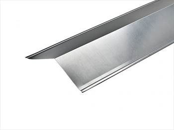 Galvanised Angled Ridge (130° - 200mm x 200mm x 2500mm)