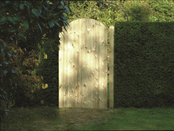 Tongue & Groove Arched Gate (0.9m x 1.8m)