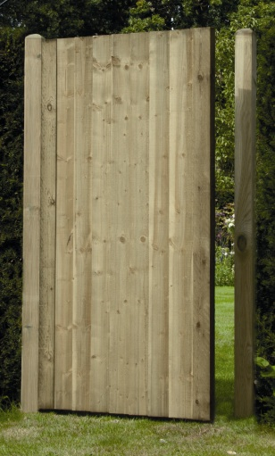 Green Sawn Featheredge Gate (0.9m x 1.75m)