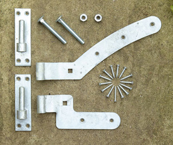 Arched Gate Fixings (Left Hand)