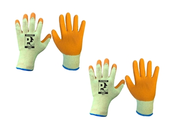 Latex Gloves (2 Pairs)