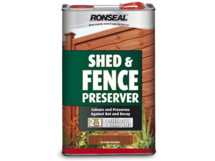 Shed & Fence Preserver Autumn Brown (5 litre)