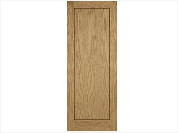 Single Panel Oak Inlay Pre-Finished Door (Imperial)