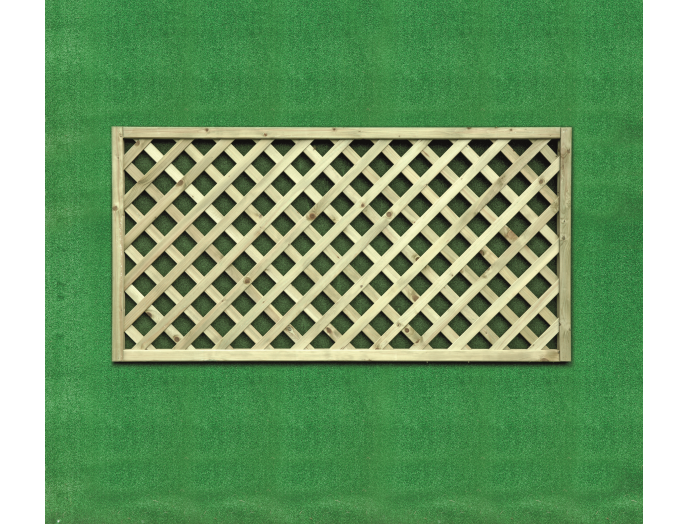 Heavy Diamond Lattice Trellis (0.9m x 1.8m)