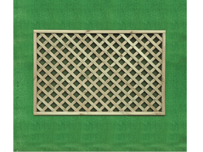 Heavy Diamond Lattice Trellis (1.2m x 1.8m)