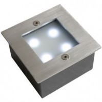 Robus-Stainless Steel Ground Light-Blue-Square