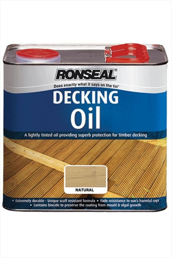 Ronseal Decking Oil Natural (5 litre)
