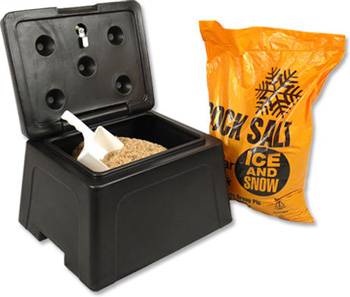 Mini Grit Bin (30 Litre) & Scoop