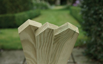Planed, Pointed Top Picket Boards 600mm