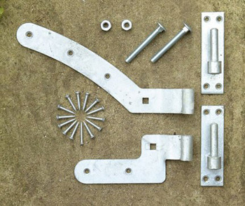 Arched Gate Fixings (Right Hand)
