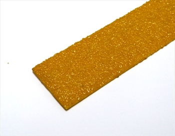 50mm YELLOW Anti Slip Decking Strip -  Fixings Inc