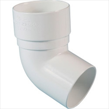 Round Downpipe Bend 68mm (112 1/2 Degree)