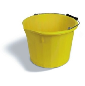 Heavy Duty Yellow Bucket 10L