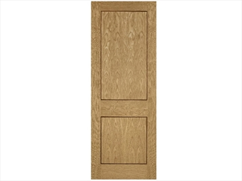 2 Panel Oak Inlay Pre-Finished Door (Imperial)