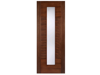 Aragon Glazed Walnut Flush Door (Imperial)