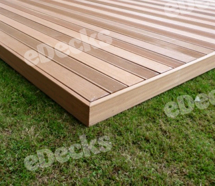 Smooth 145mm hardwood fascia board to cover for 4 8 meter decking boards