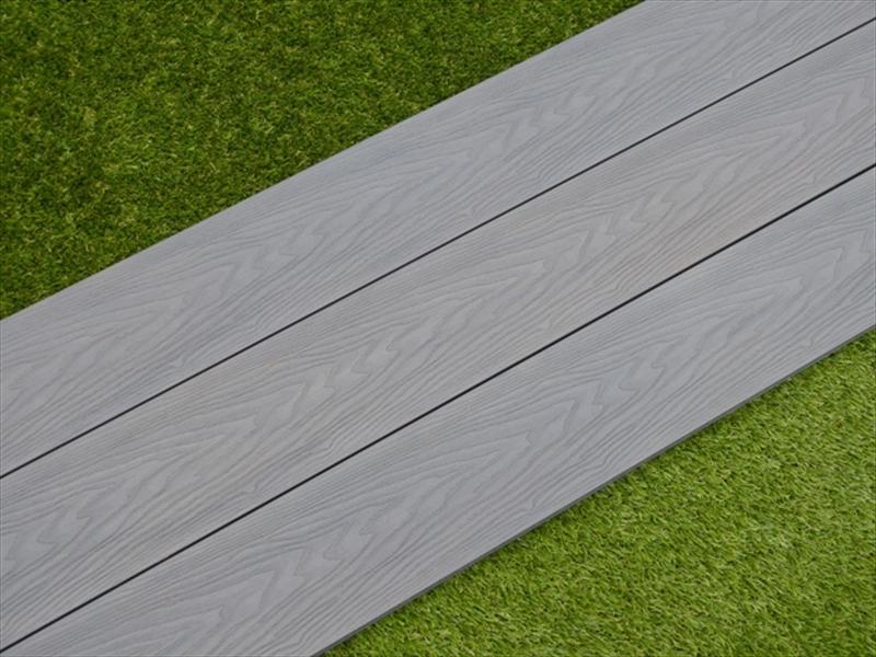 Evergrain Ultimate Slate Grey Solid Composite Decking