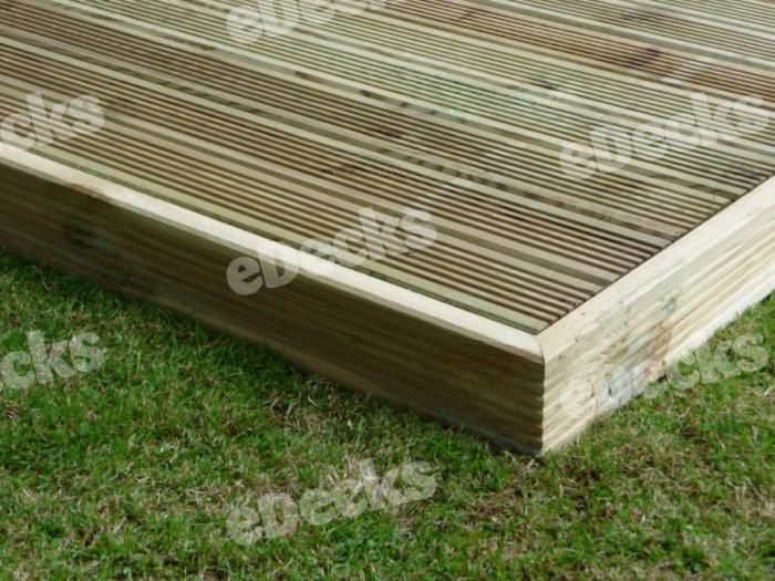 Decking kits x for Garden decking kits uk