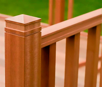 3.0m x 3.0m Hardwood IPE Deck Kit (With Handrails)