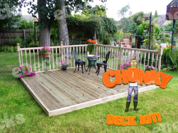 Supreme Chunky Kit 3.6m x 3.6m (With Handrails)