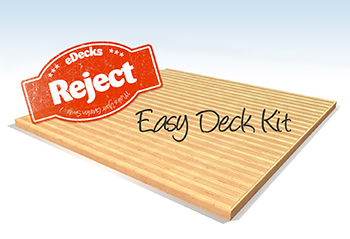 Reject Decking Kit No Handrails (3.6m x 3.6m)