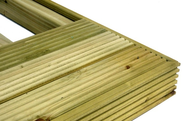 Discount Decking Pack No Handrails (4.2m x 4.2m)