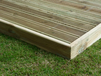 2.4m x 4.8m Easy Deck Patio Kit (No Handrails)
