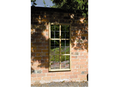 WEATHERED Garden Mirror Tudor Window (1200mm x 600mm)