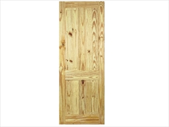 Pine 4 Panel Knotty Door (Imperial)