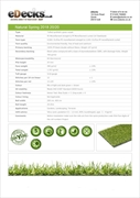 Natural Spring Artificial Grass 20mm (2m Wide Only)