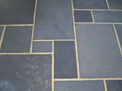 Calibrated 22mm Indian Stone Paving Carbon (Sold Per m2)