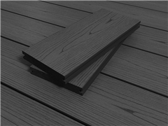 RealGroove™ Bark Effect Ebony Solid Composite Decking (3600mm x 146mm x 22mm)
