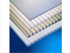 Clear 6mm Twinwall Polycarbonate (1220mm x 1220mm)