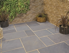 Calibrated 25mm Indian Stone Paving Kotach Blue (Sold Per m2)