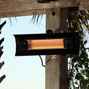 Black Wall Mounted IR Patio Heater
